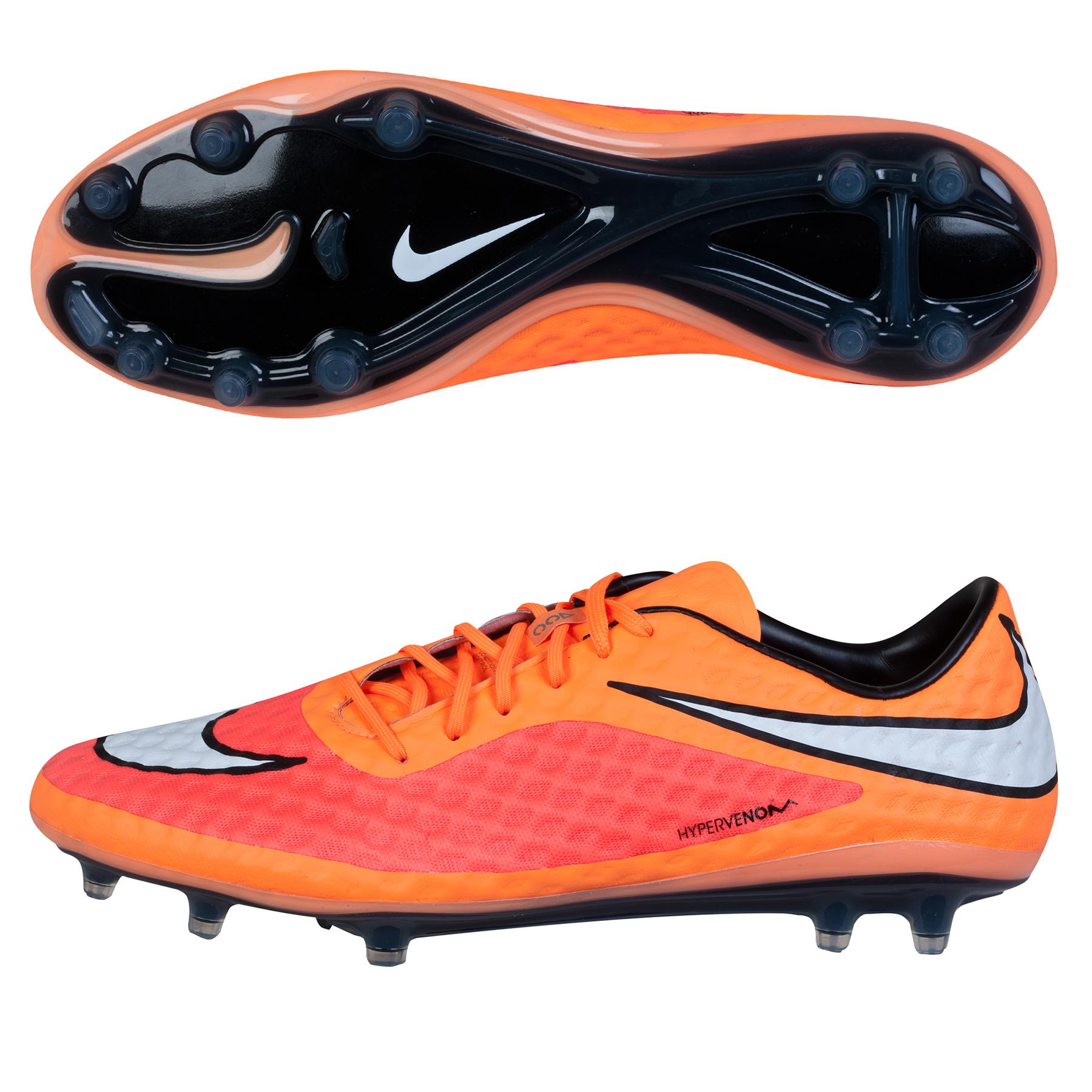 Nike Hypervenom Phantom Firm Ground Football Boots Orange
