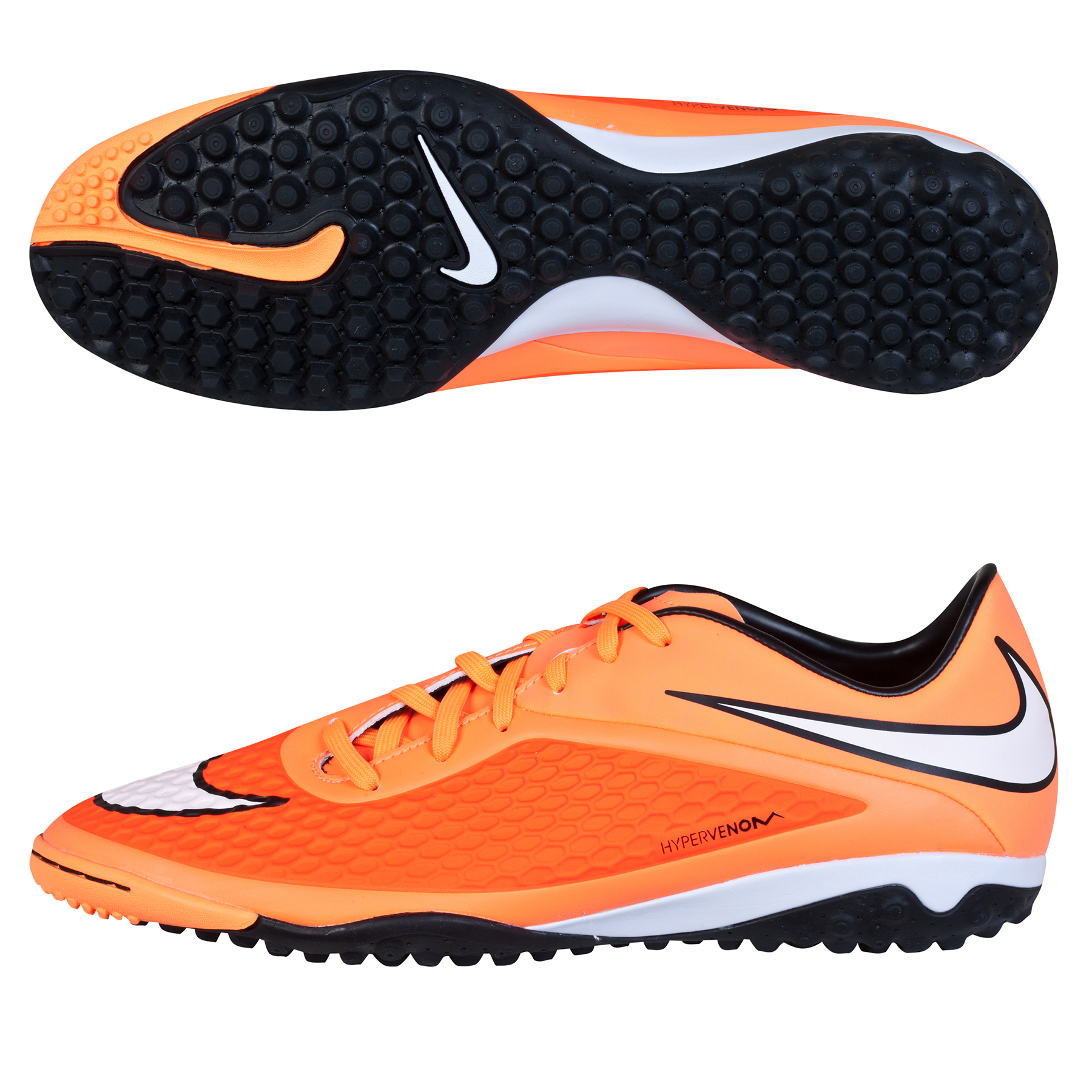 Nike Hypervenom Phelon Astroturf Trainers Orange
