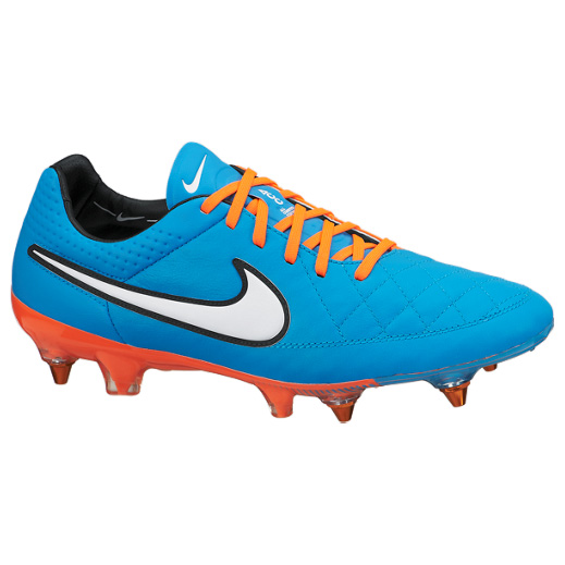 Nike Tiempo Legend V Soft Ground-Pro Football Boots Sky Blue