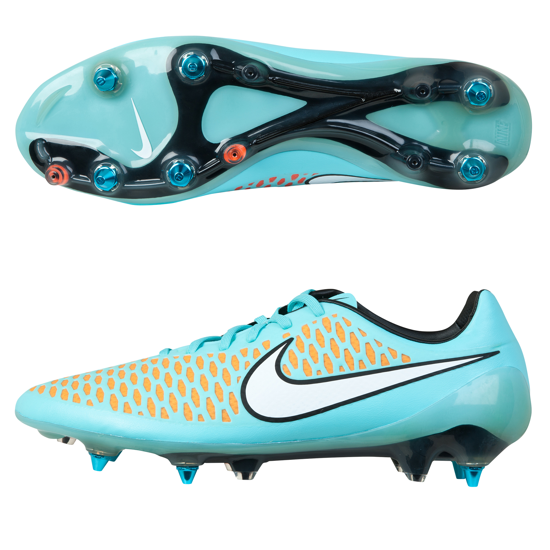 Nike Magista Opus Soft Ground-Pro Football Boots Sky Blue
