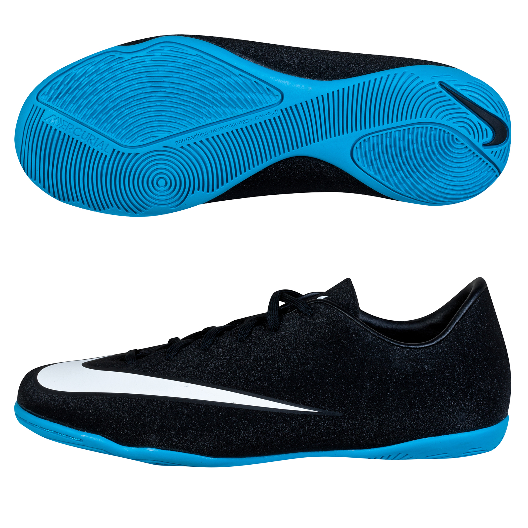 Nike Mercurial CR7 Victory V Indoor Trainers - Kids Black