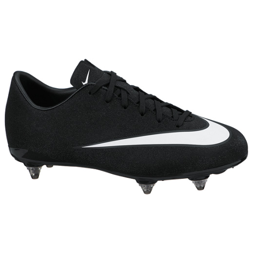 Nike Mercurial CR7 Victory V Soft Ground Kids Black