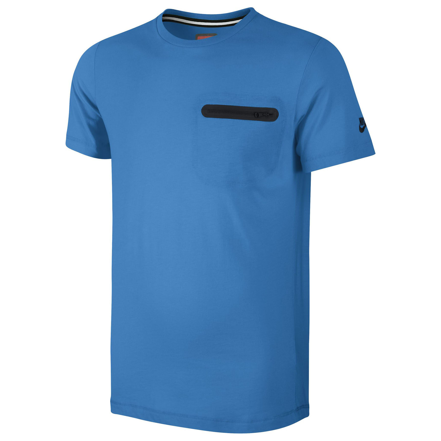 Nike Glory Tech Top Pocket T-Shirt Sky Blue