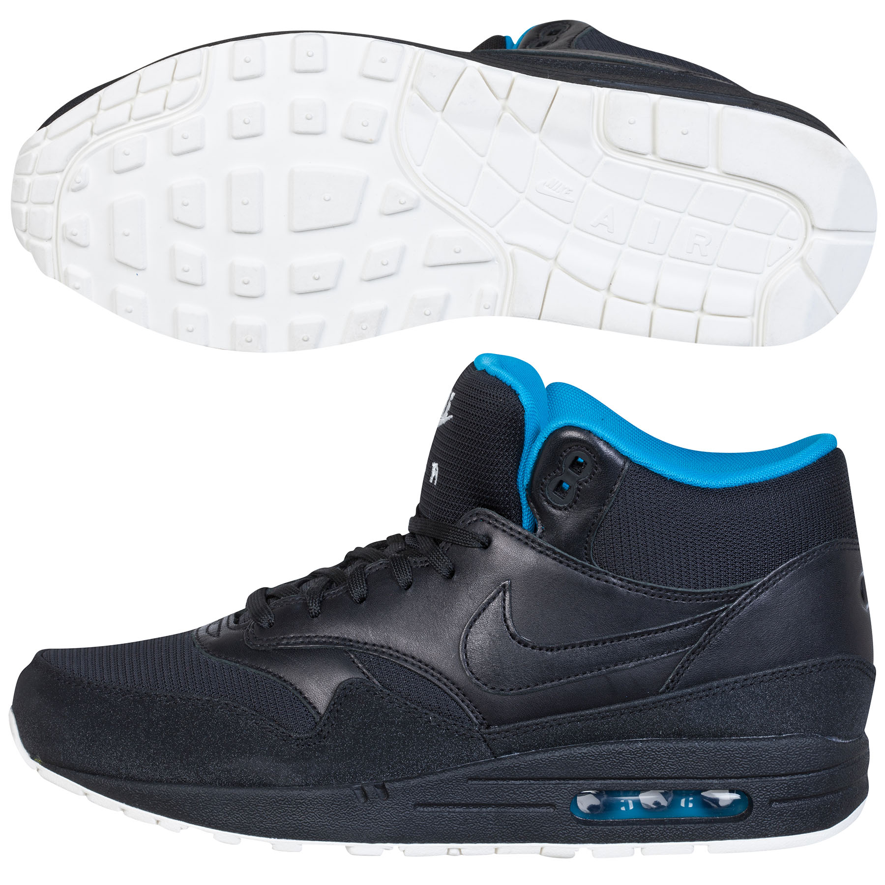 Nike Air Max 1 Mix FB Trainers Black