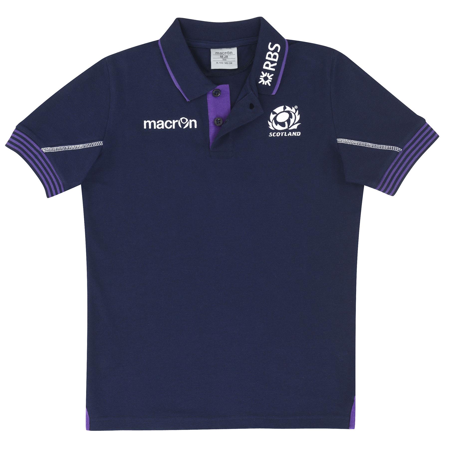 Scotland Cotton Polo Navy