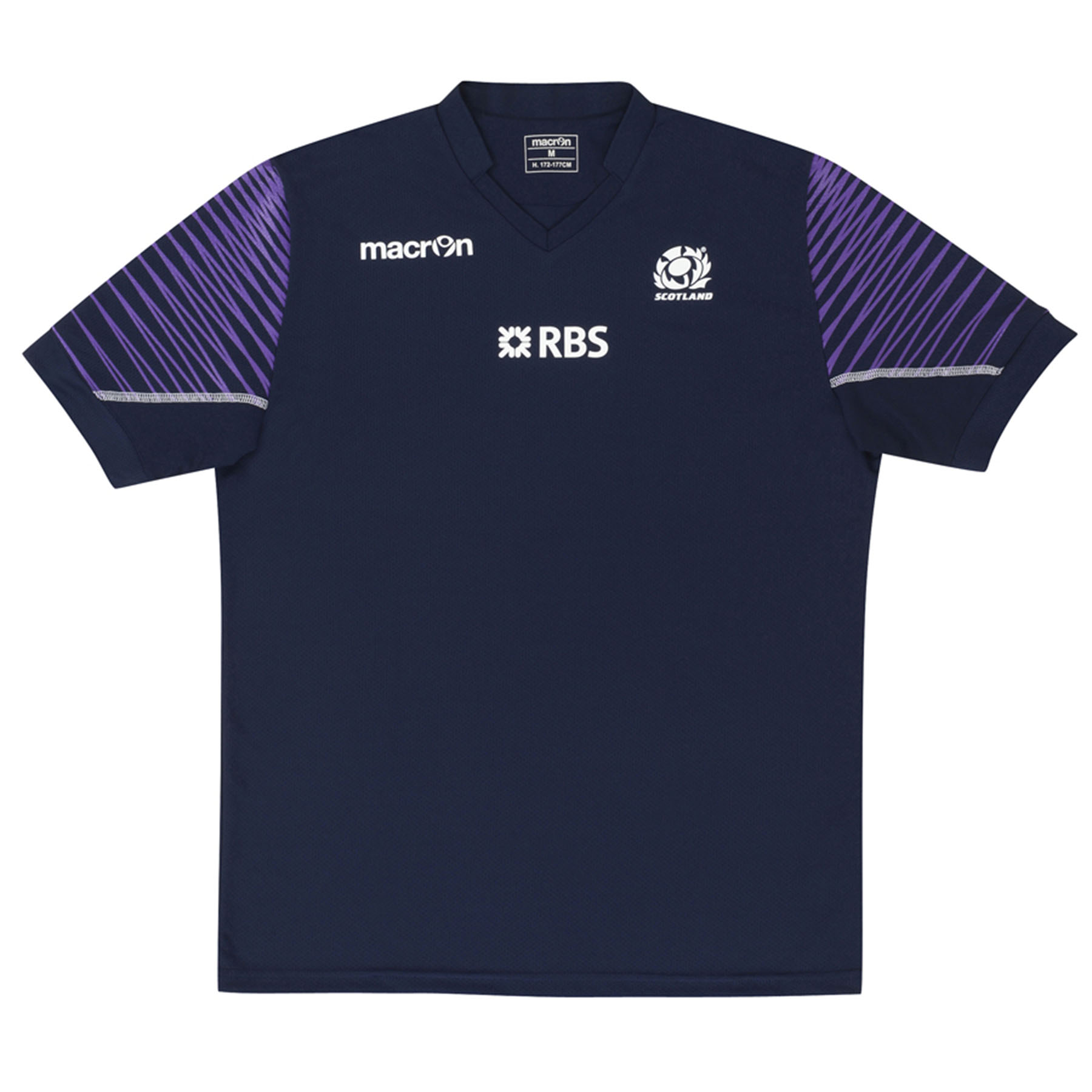 Scotland Training Poly T-Shirt Navy