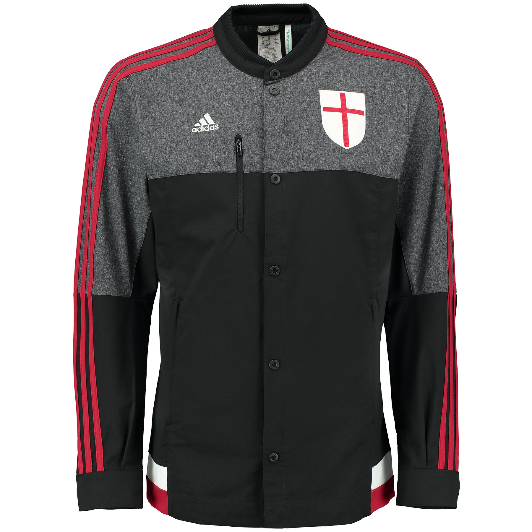 Image of AC Milan Anthem Jacket Black