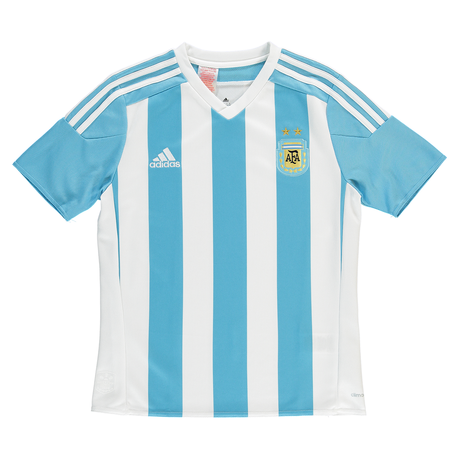 Argentina Home Shirt 2015  Kids White