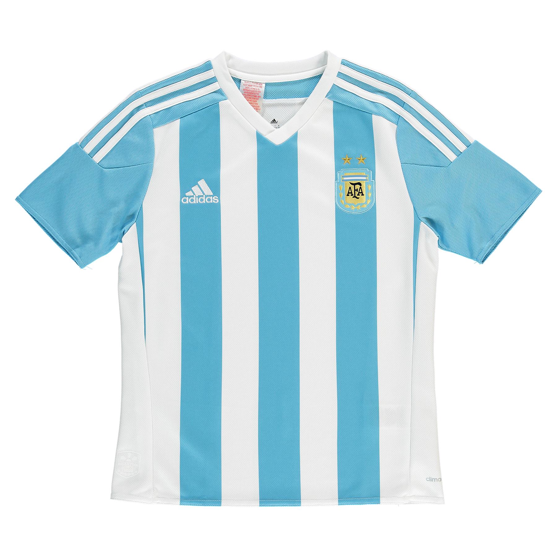 Argentina Home Shirt 2015  Kids White