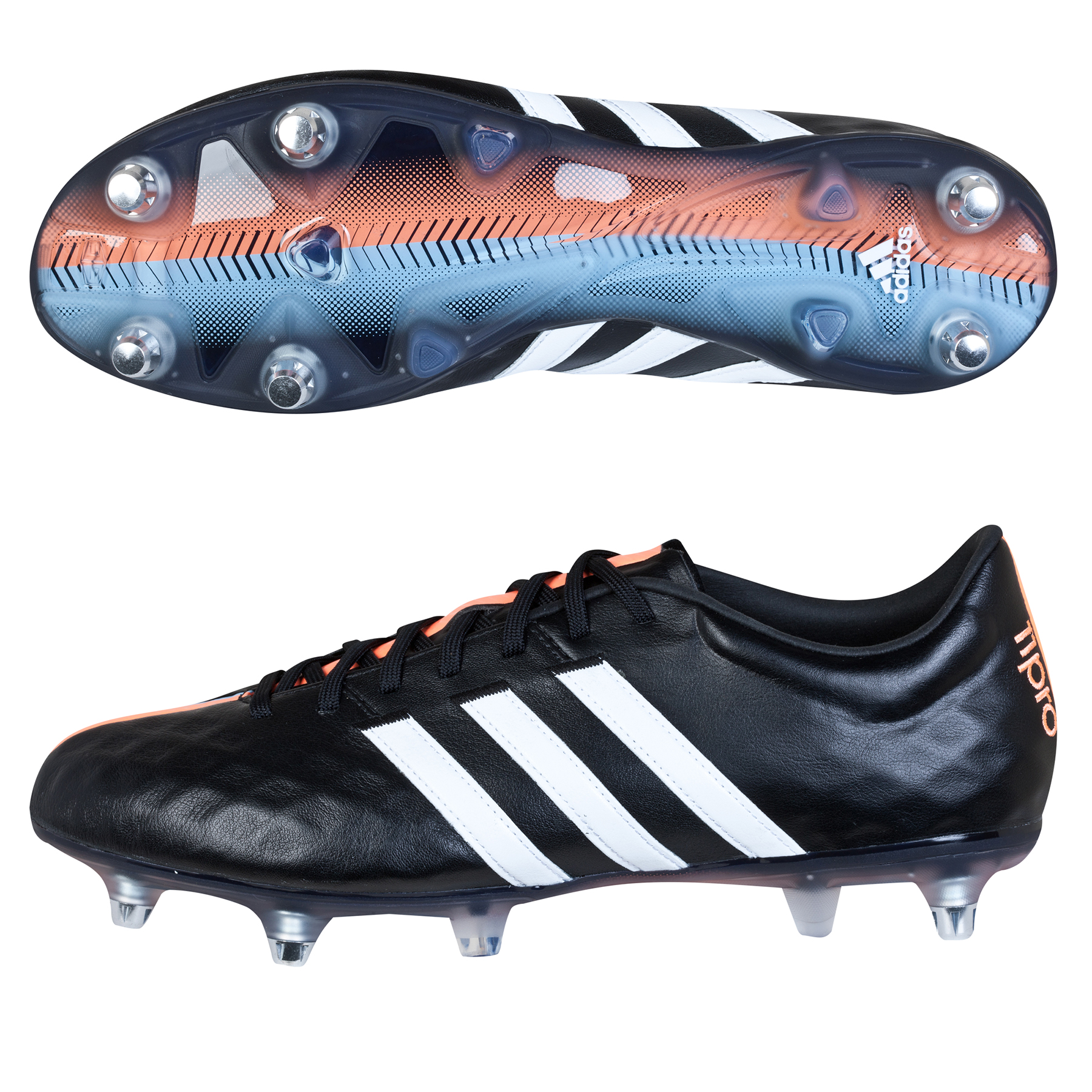 Adidas 11Pro Soft Ground Black