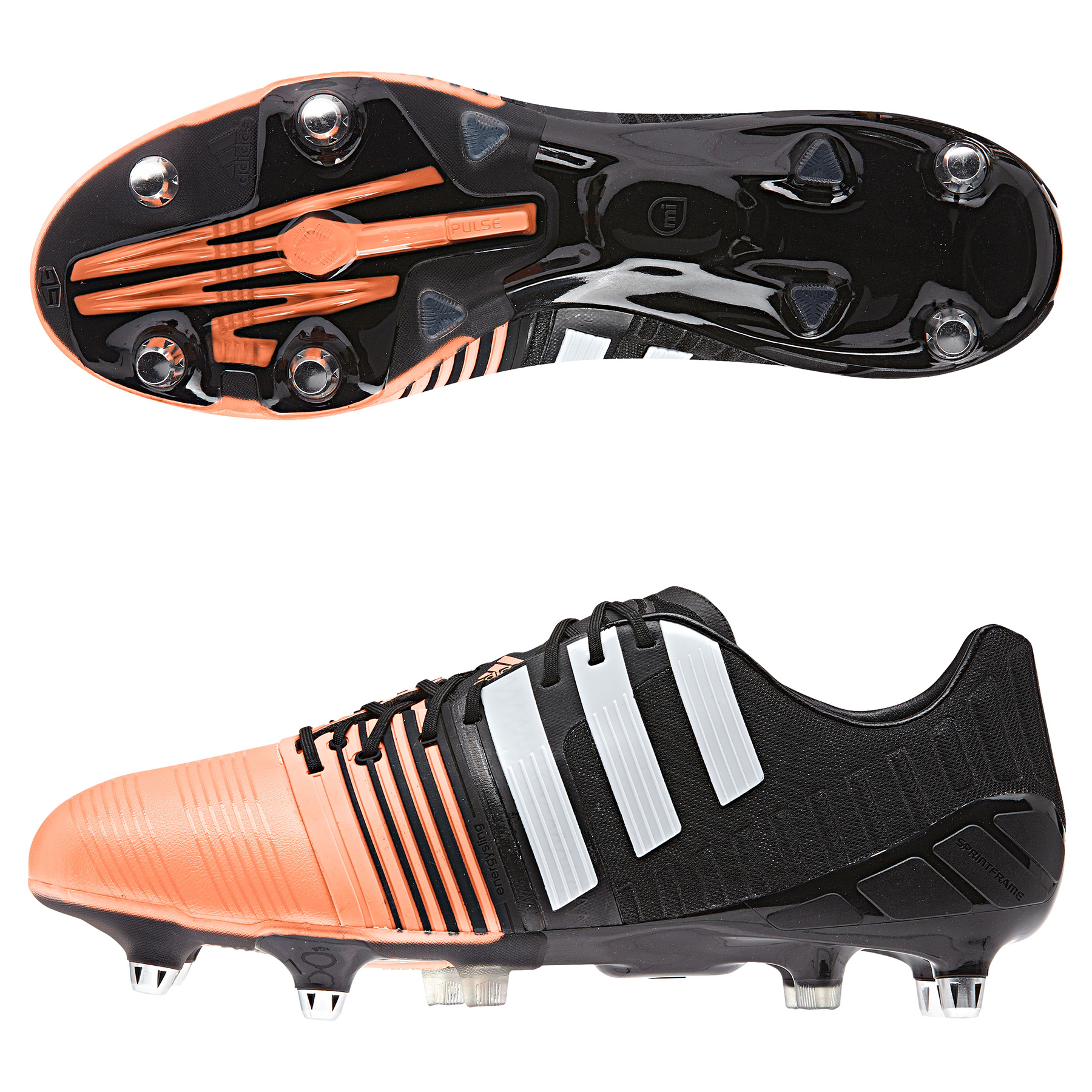 Adidas Nitrocharge 1.0 Soft Ground Football Boots Black