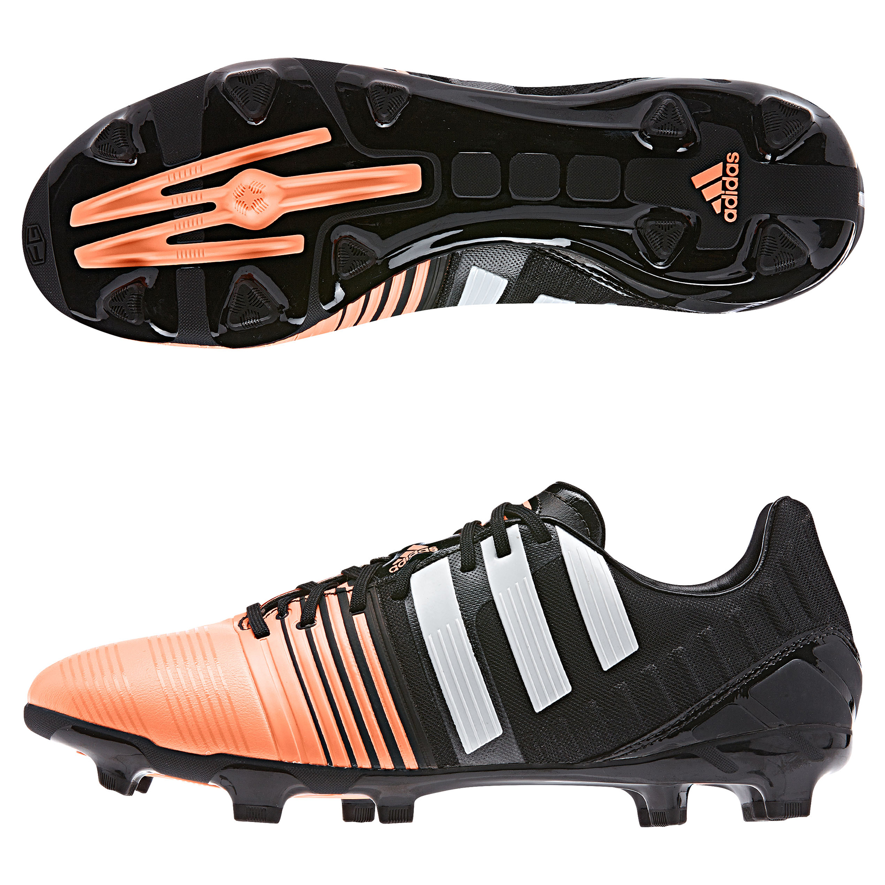 Adidas Nitrocharge 2.0 Firm Ground Football Boots Black