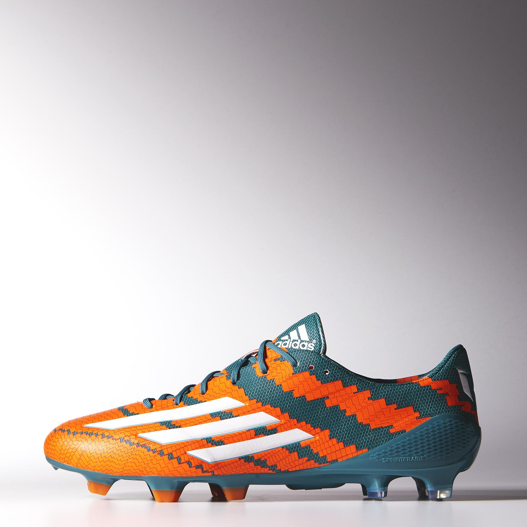 Adidas Messi 10.1 Firm Ground Football Boots Lt Blue