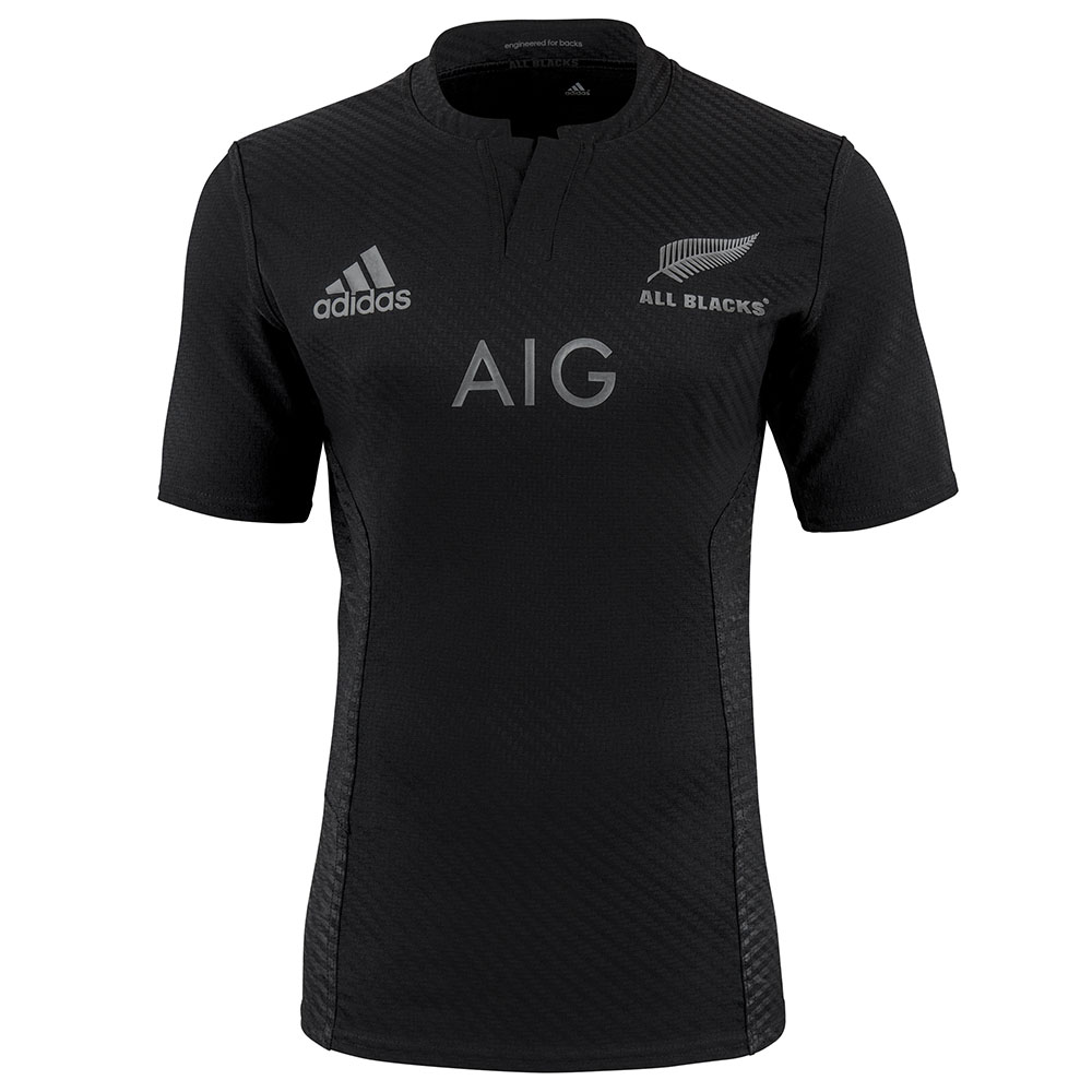 All Blacks Rugby Home Shirt  Kids Black