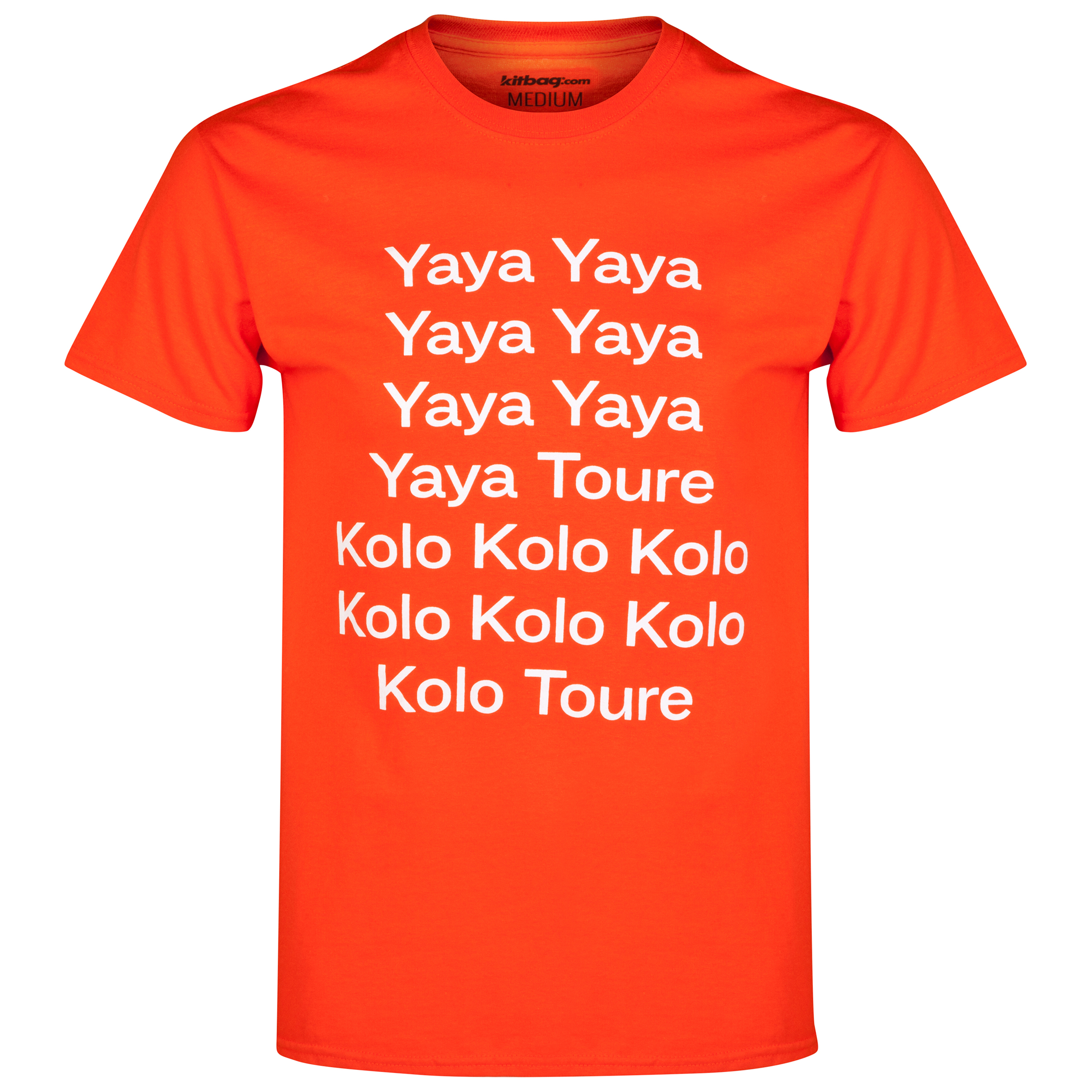 Ivory Coast Toure T-Shirt Orange