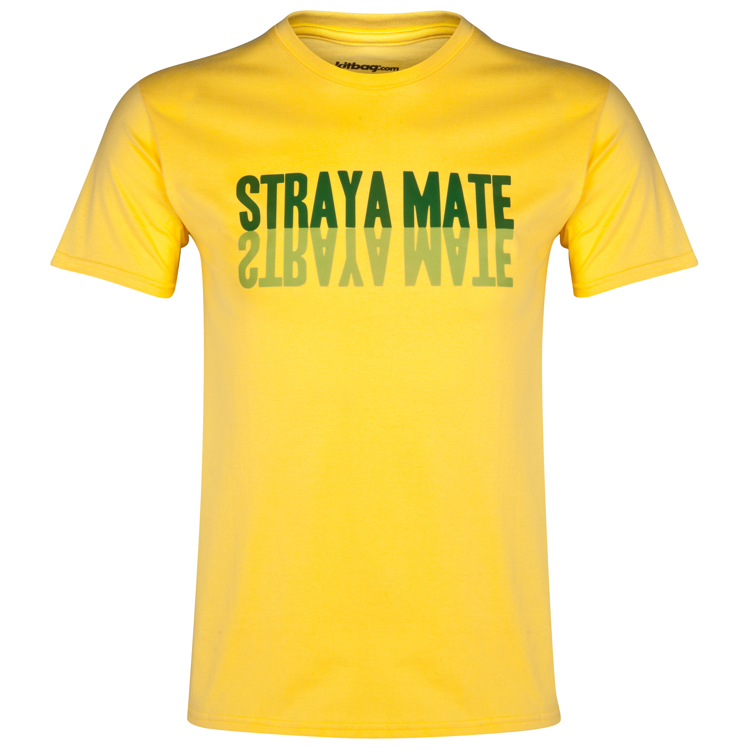 Australia Straya Mate T-Shirt Yellow