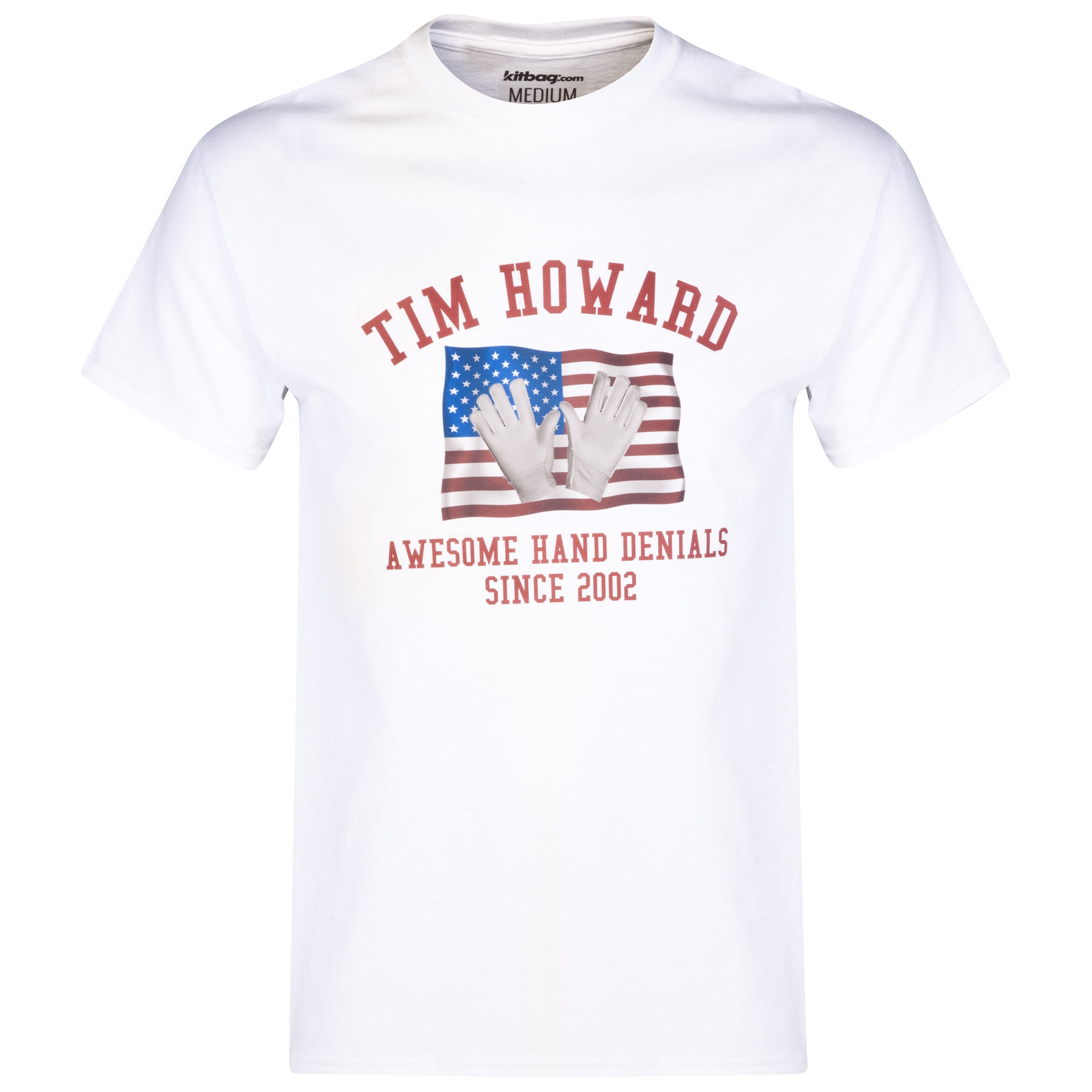 USA Awesome Hand Denials T-Shirt White