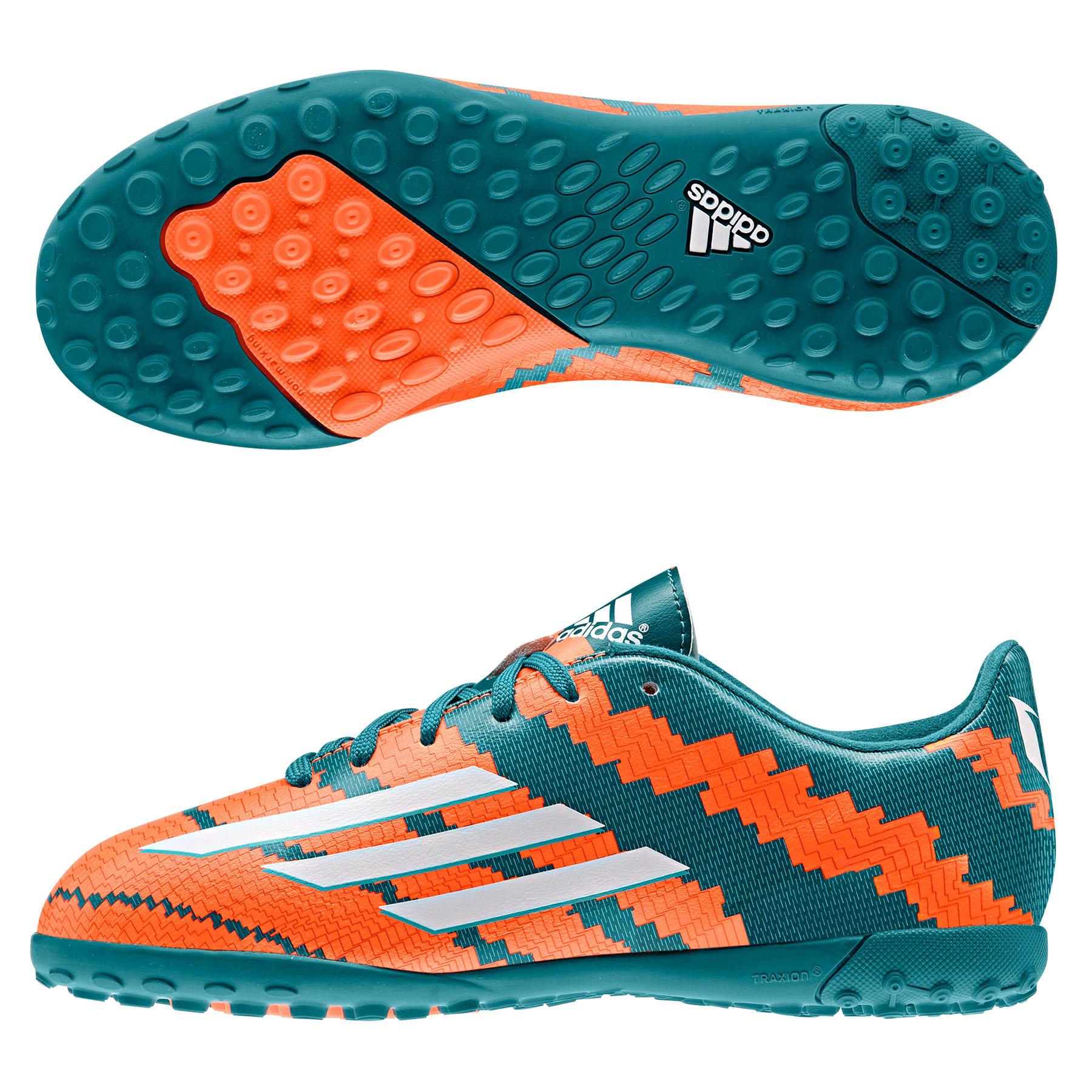 Adidas Messi 10.3 Astroturf Trainers  Kids Lt Blue