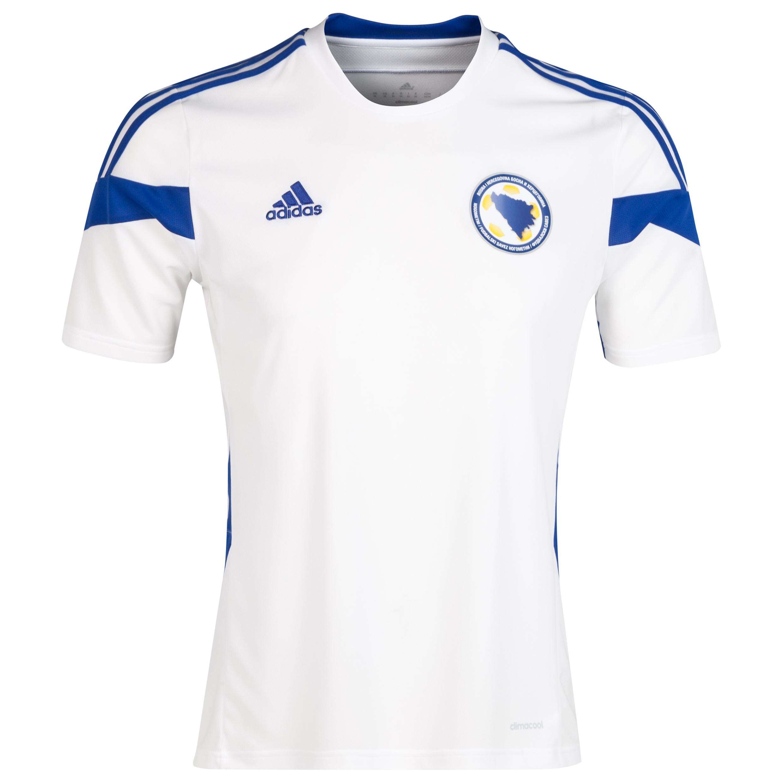 Bosnia-Herzegovina Away Shirt 2014/15 White