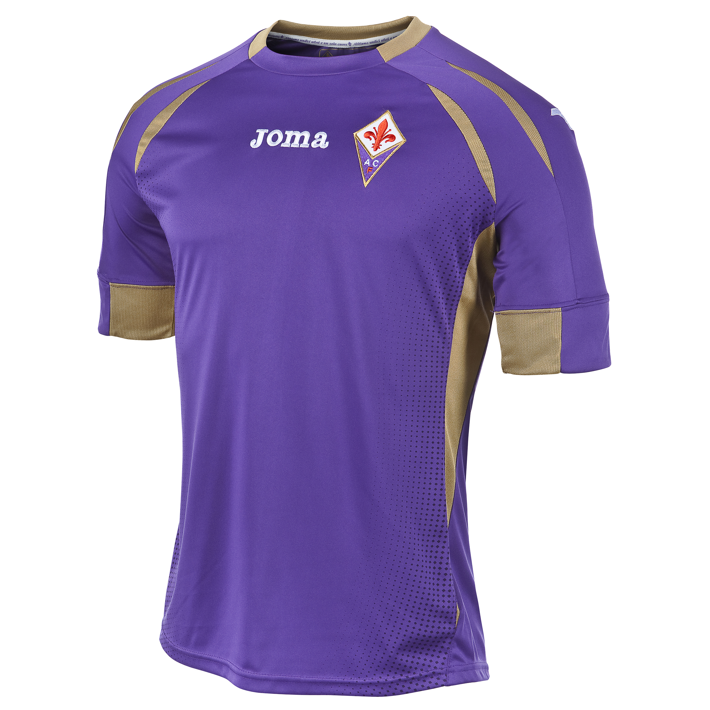 ACF Fiorentina Home Shirt 2014/15 Purple