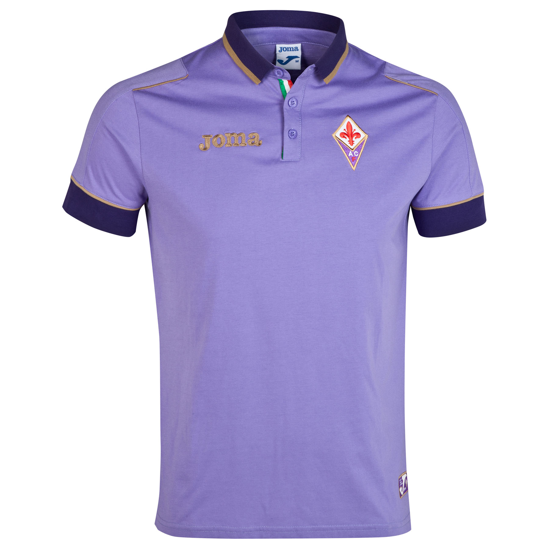 ACF Fiorentina Training Polo Purple