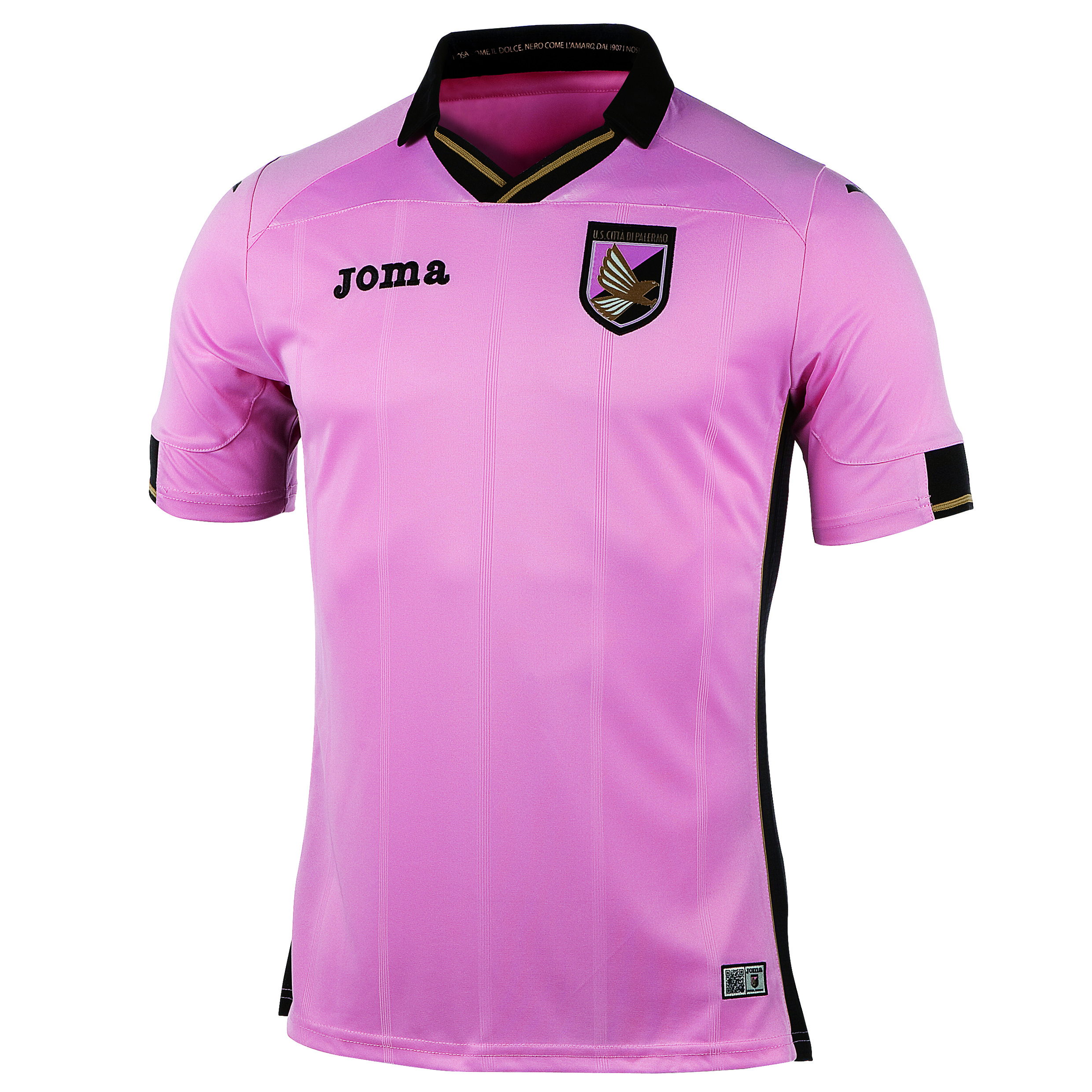 Palermo Home Shirt 2014/15 Black