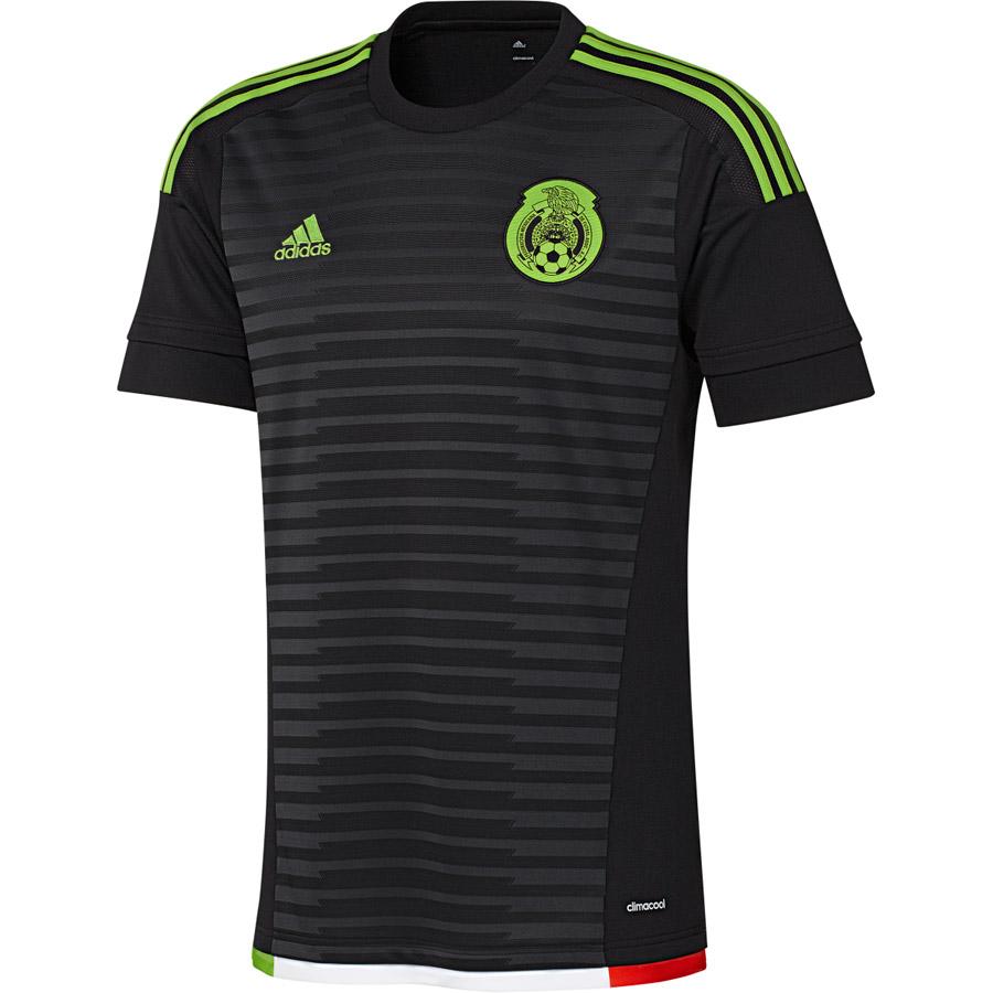 Mexico Home Shirt 2015 Black