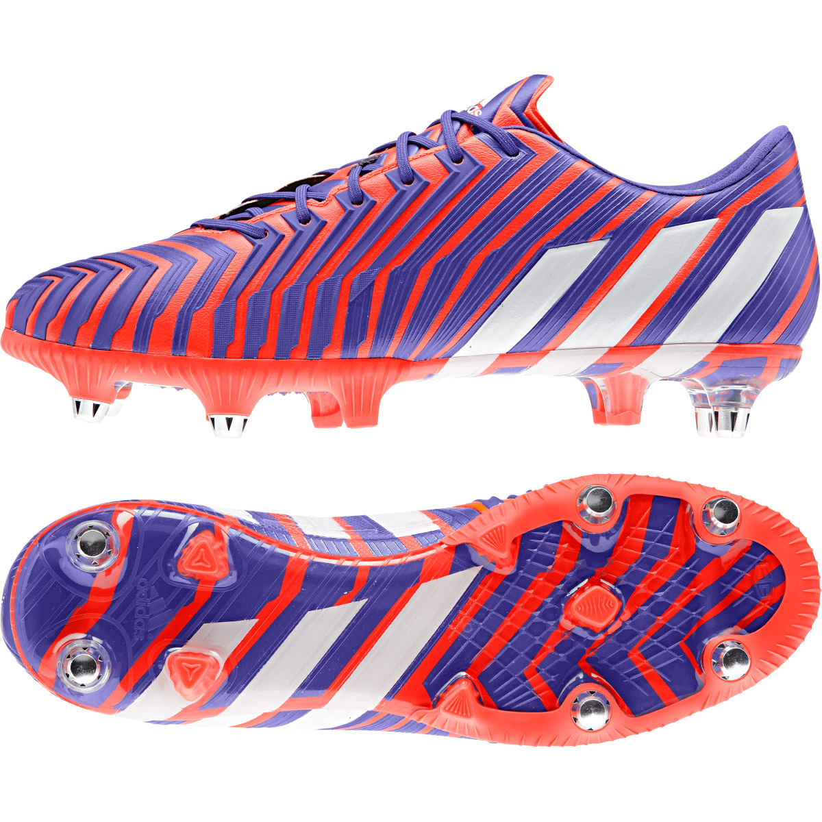 Adidas Predator Instinct Soft Ground Football Boots Red