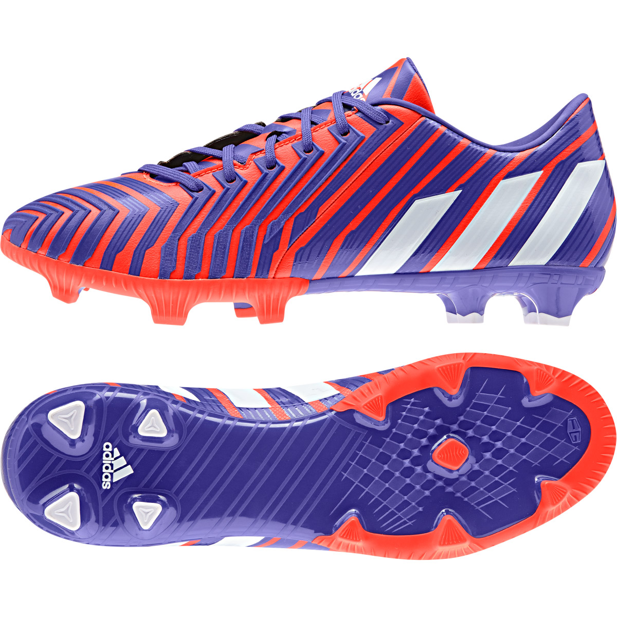 Adidas Predator Absolion Instinct Firm Ground Football Boots Red