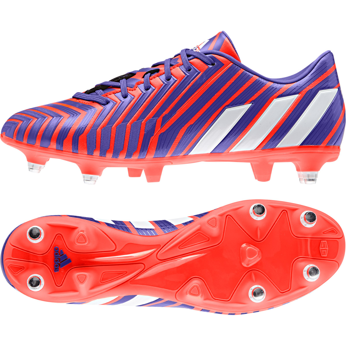Adidas Predator Absolado Instinct Soft Ground Football Boots Red