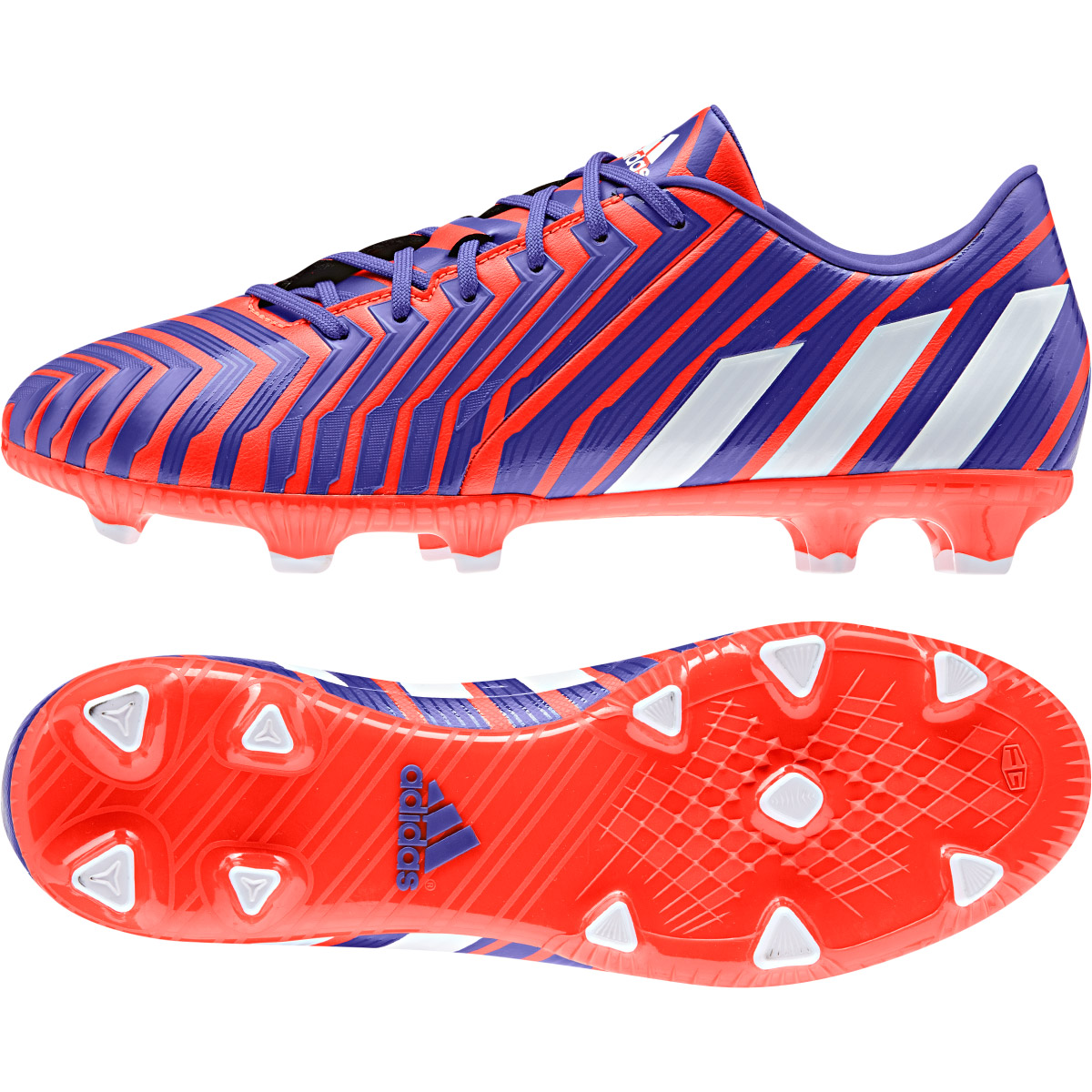Adidas Predator Absolado Instinct Firm Ground Football Boots Red