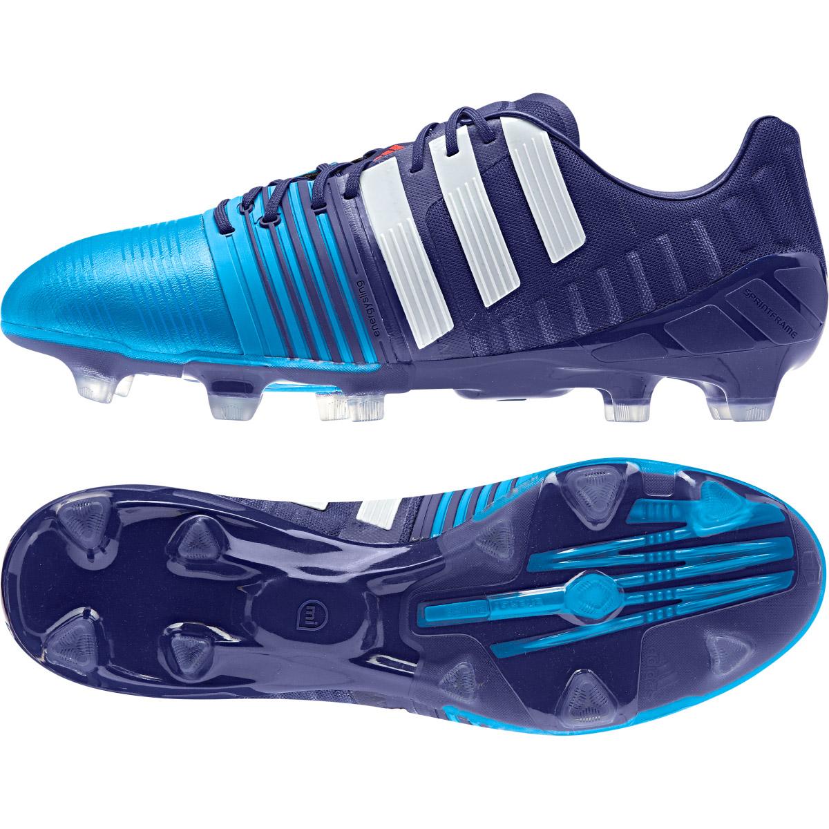 Adidas Nitrocharge 1.0 Firm Ground Football Boots Purple