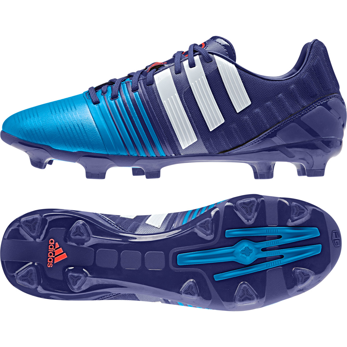 Adidas Nitrocharge 2.0 Firm Ground Football Boots Purple