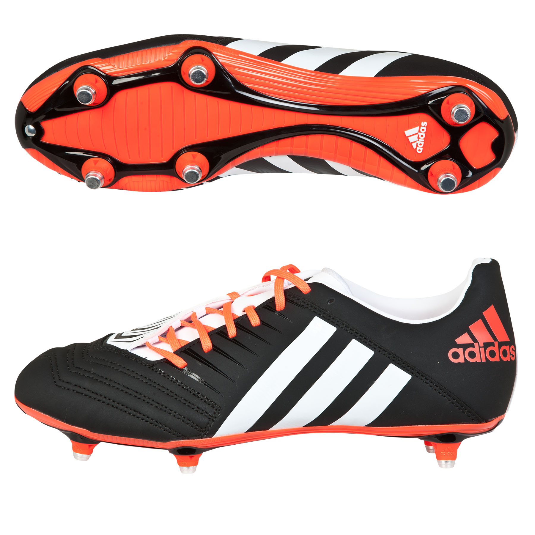 Adidas Pred Incurza TRX Soft Ground Rugby Boots Black