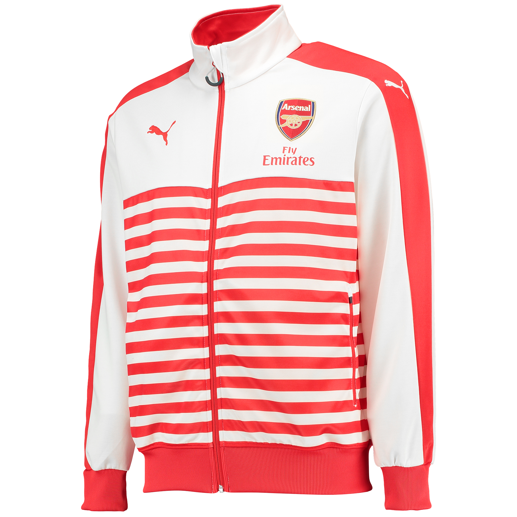 Arsenal T7 Anthem Jacket Red