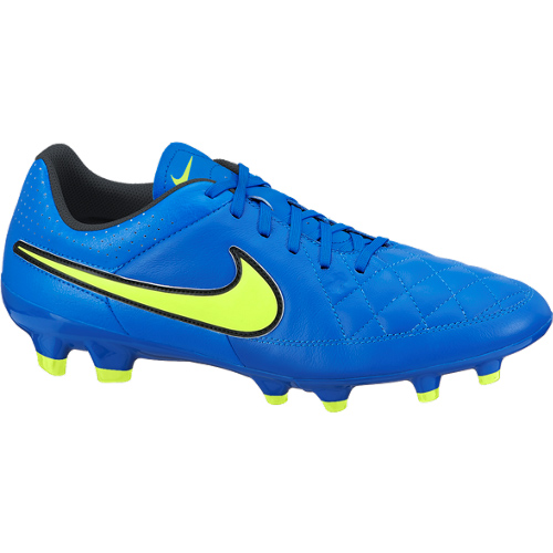 Nike Tiempo Genio Firm Ground Football Boots Blue
