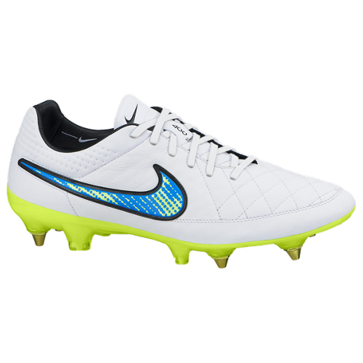 Nike Tiempo Legend V Soft Ground-Pro White