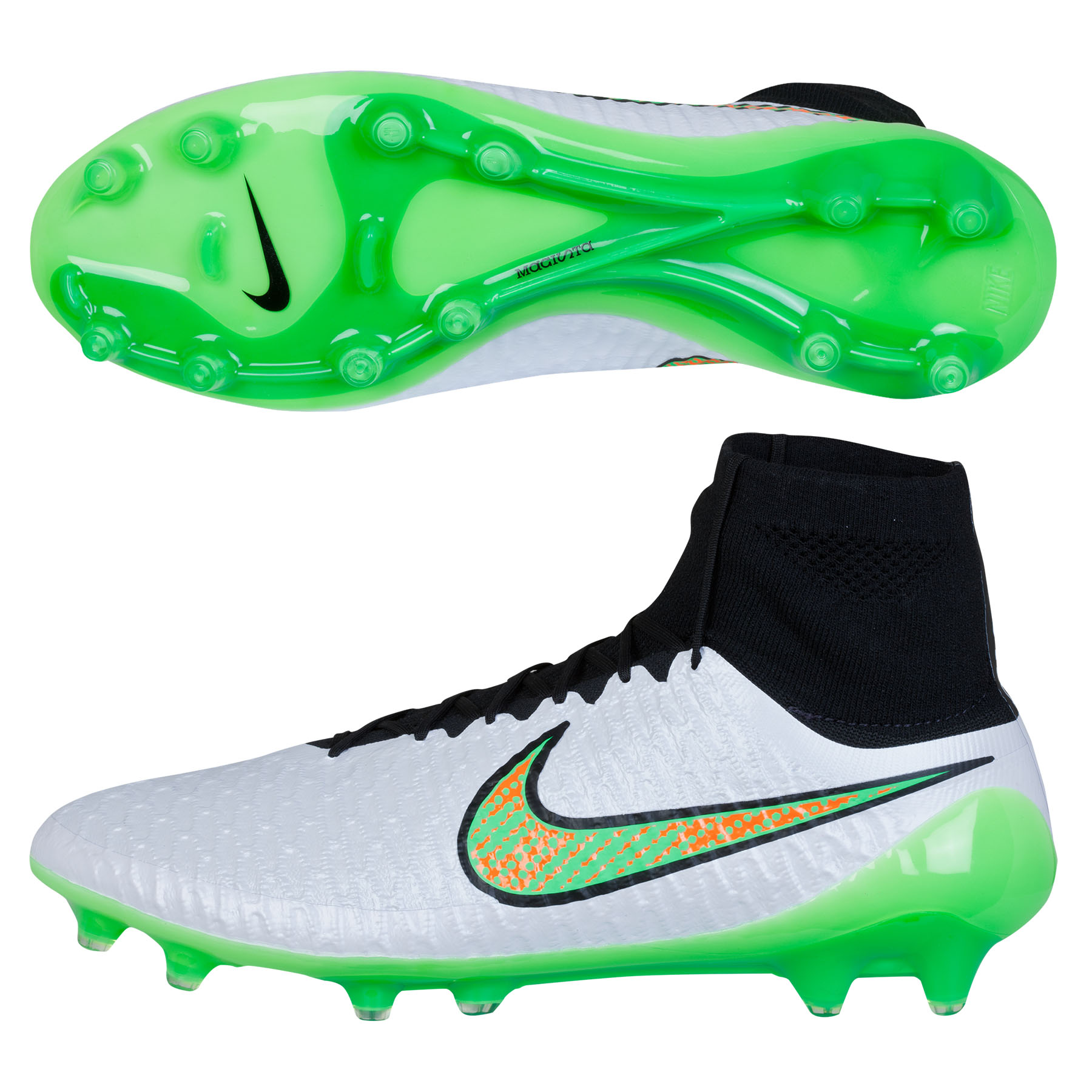 Nike Magista Obra Firm Ground Football Boots White