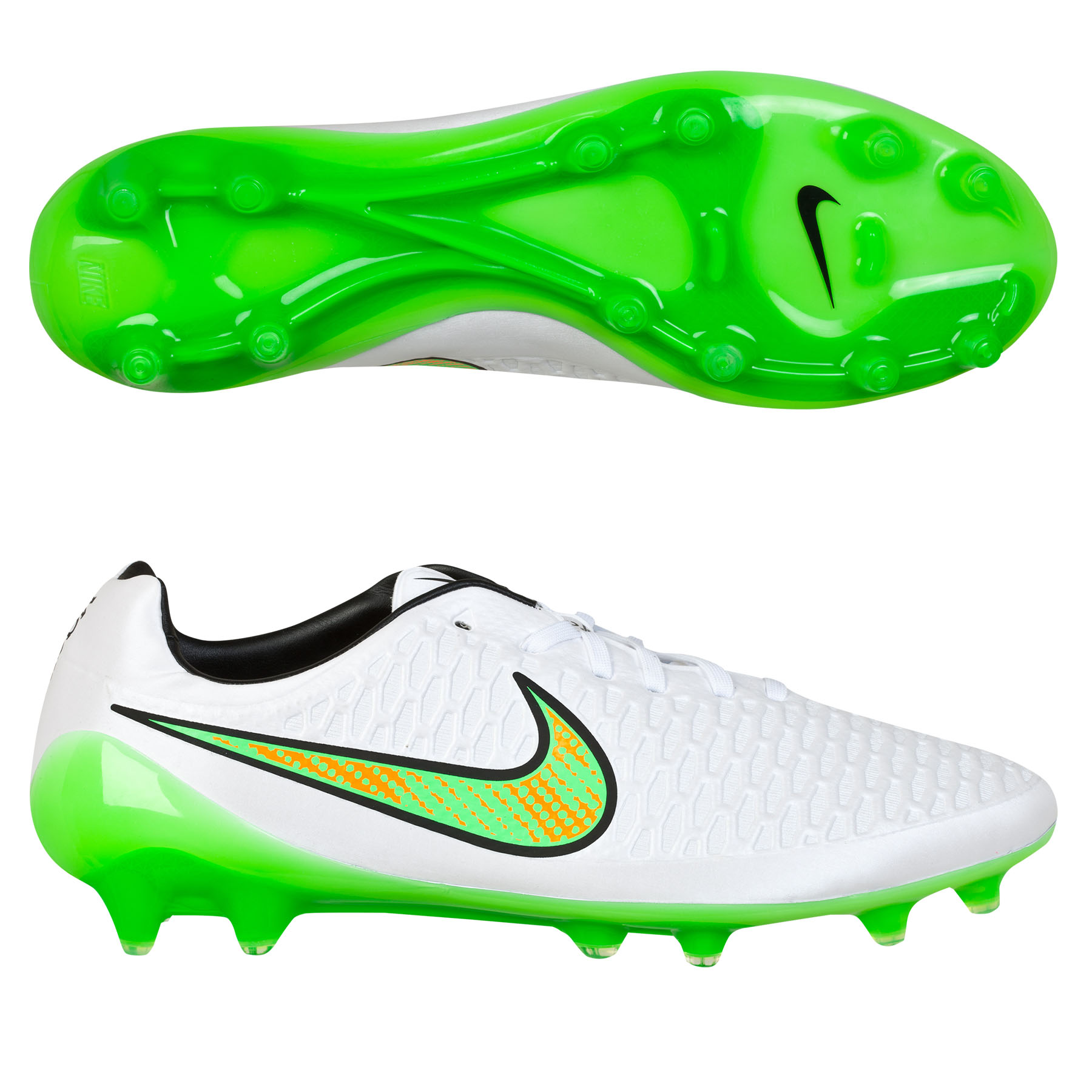 Nike Magista Opus Firm Ground Football Boots White