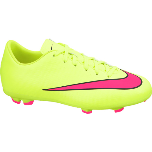 Nike Mercurial Victory V Firm Ground Football Boots  Kids Yellow