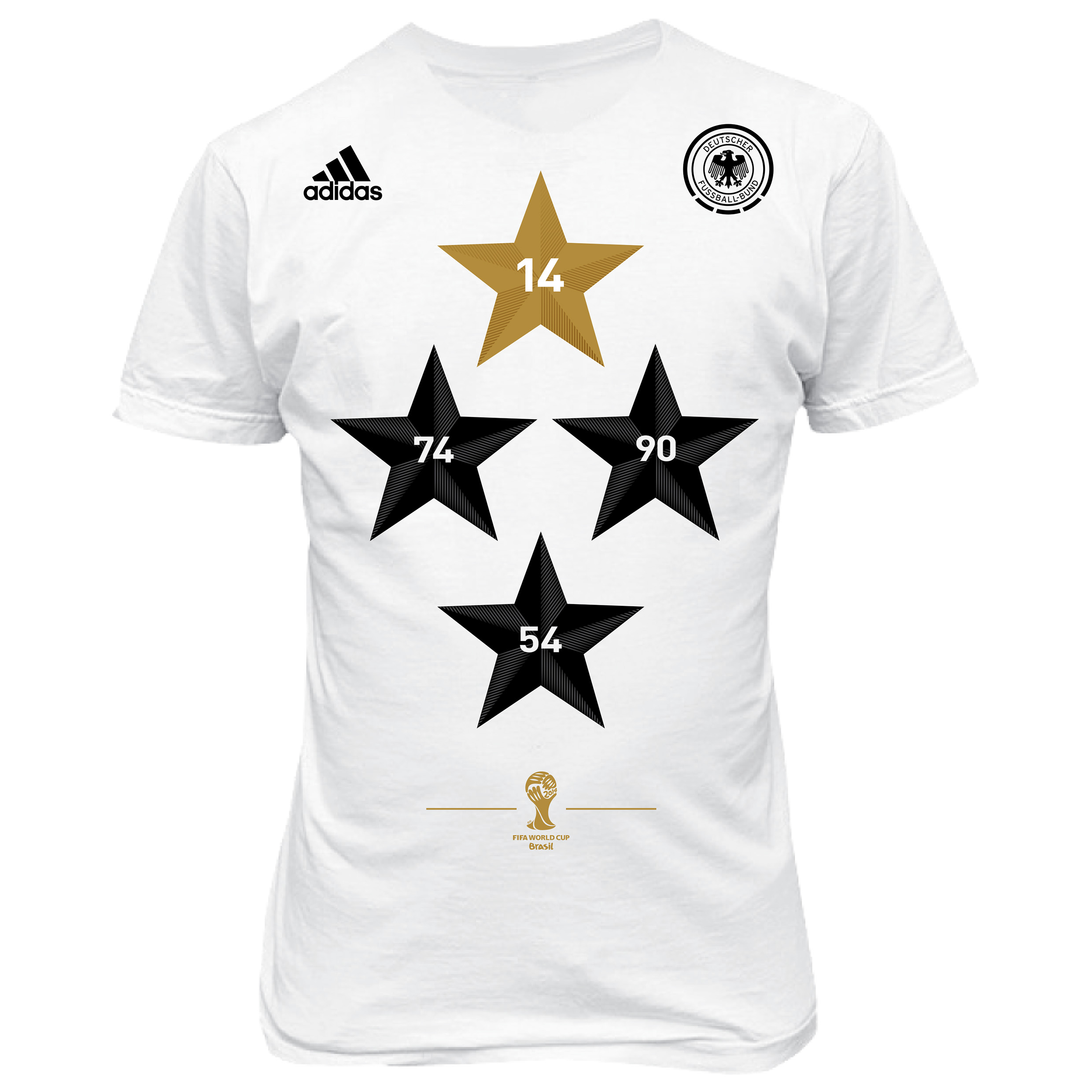 Germany World Cup Winners T-Shirt White