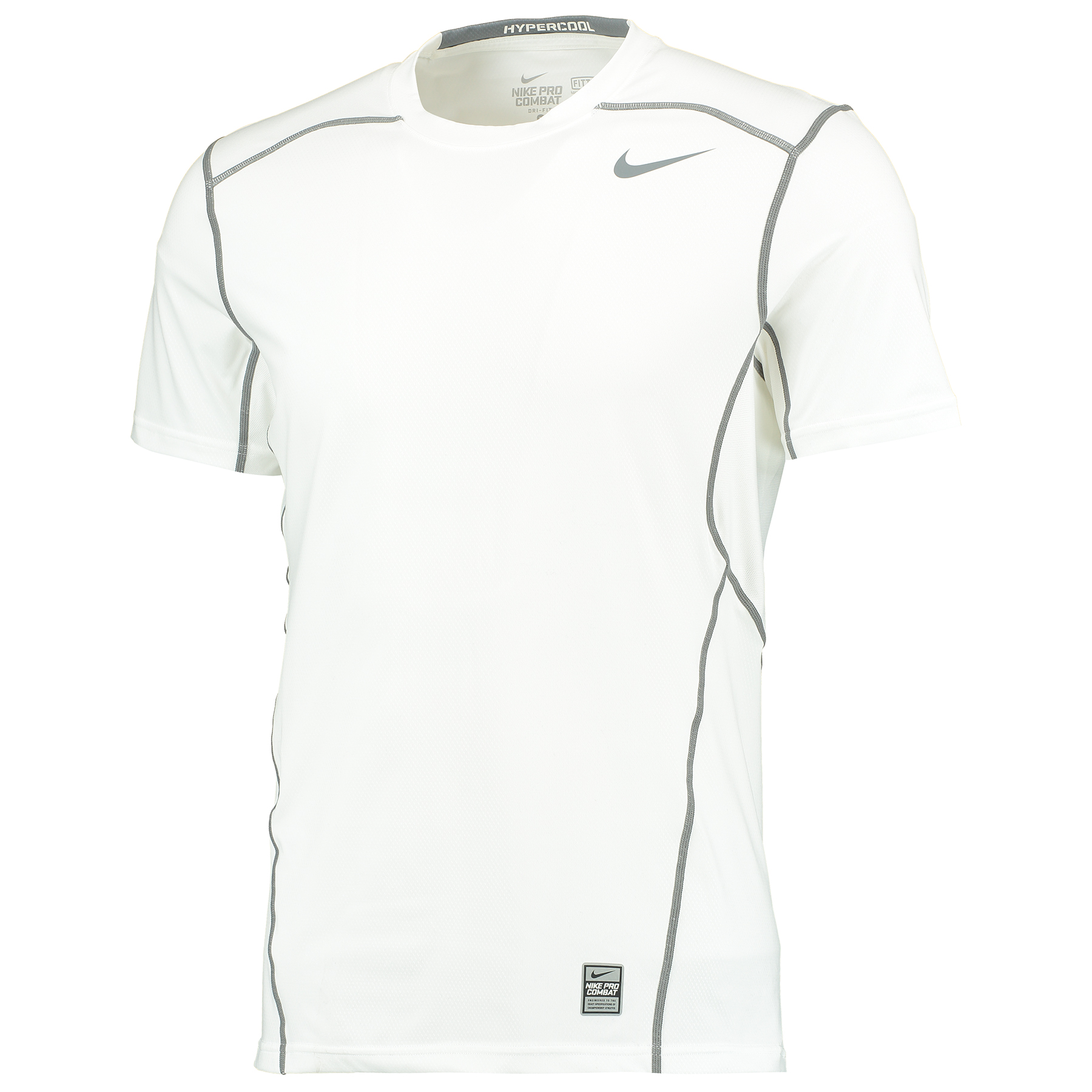 Nike Pro Combat Hypercool Baselayer Top White