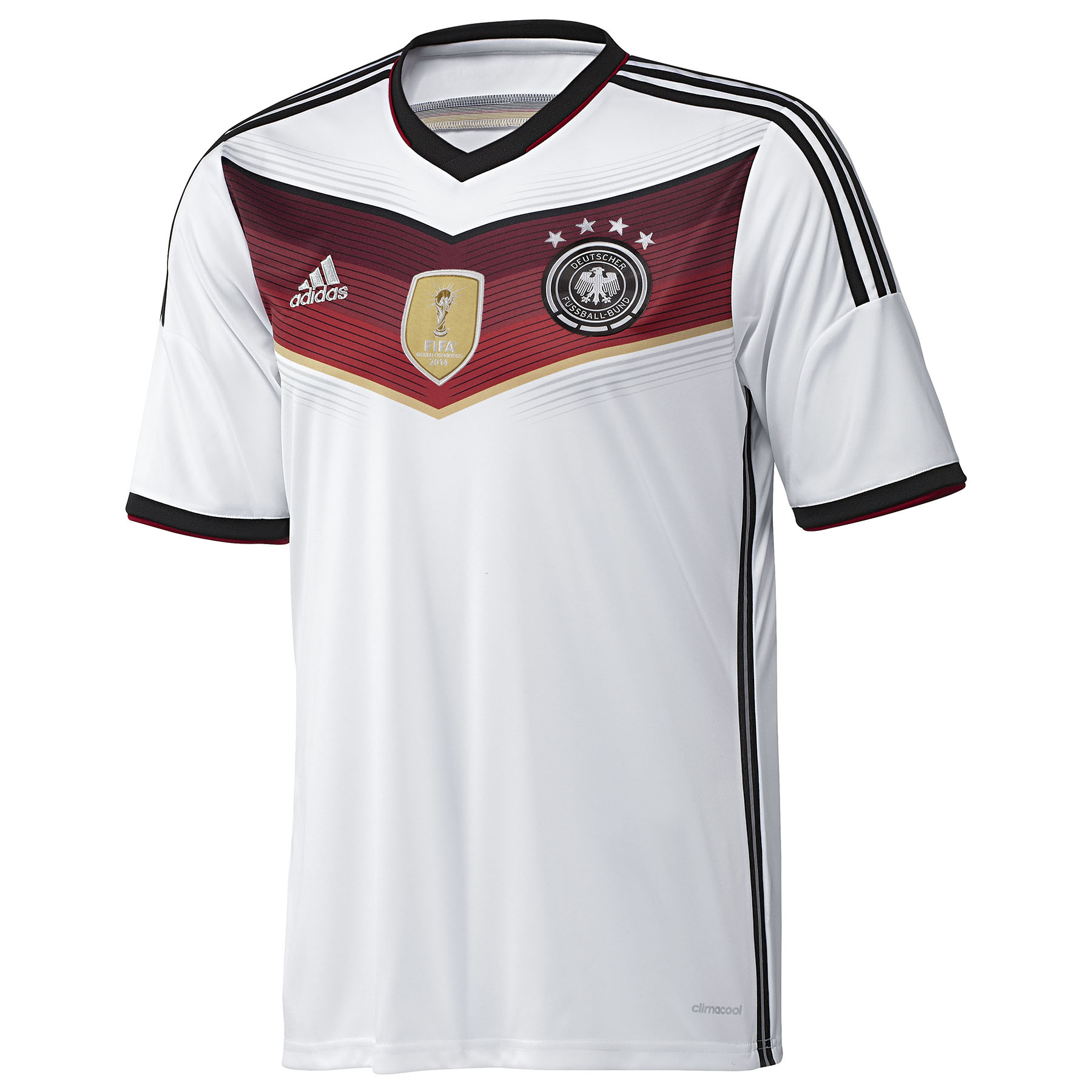 Germany Home Shirt 2014 - Four Stars - Kids White