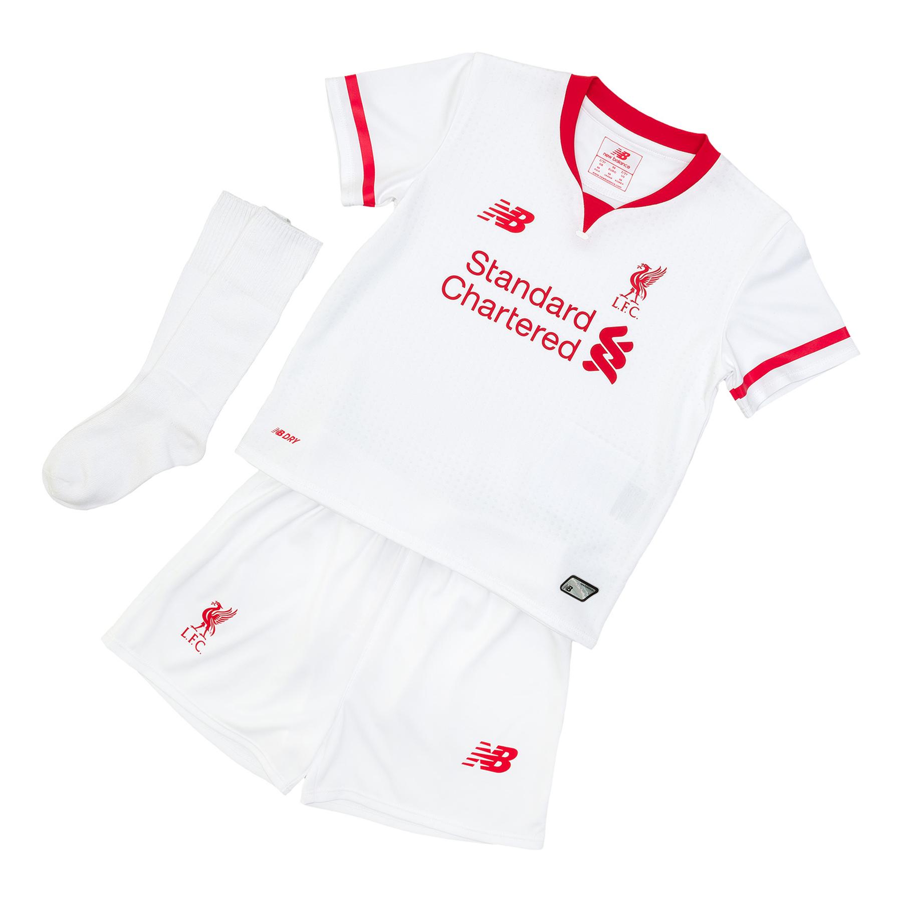 Liverpool Away Infant Kit 201516 White