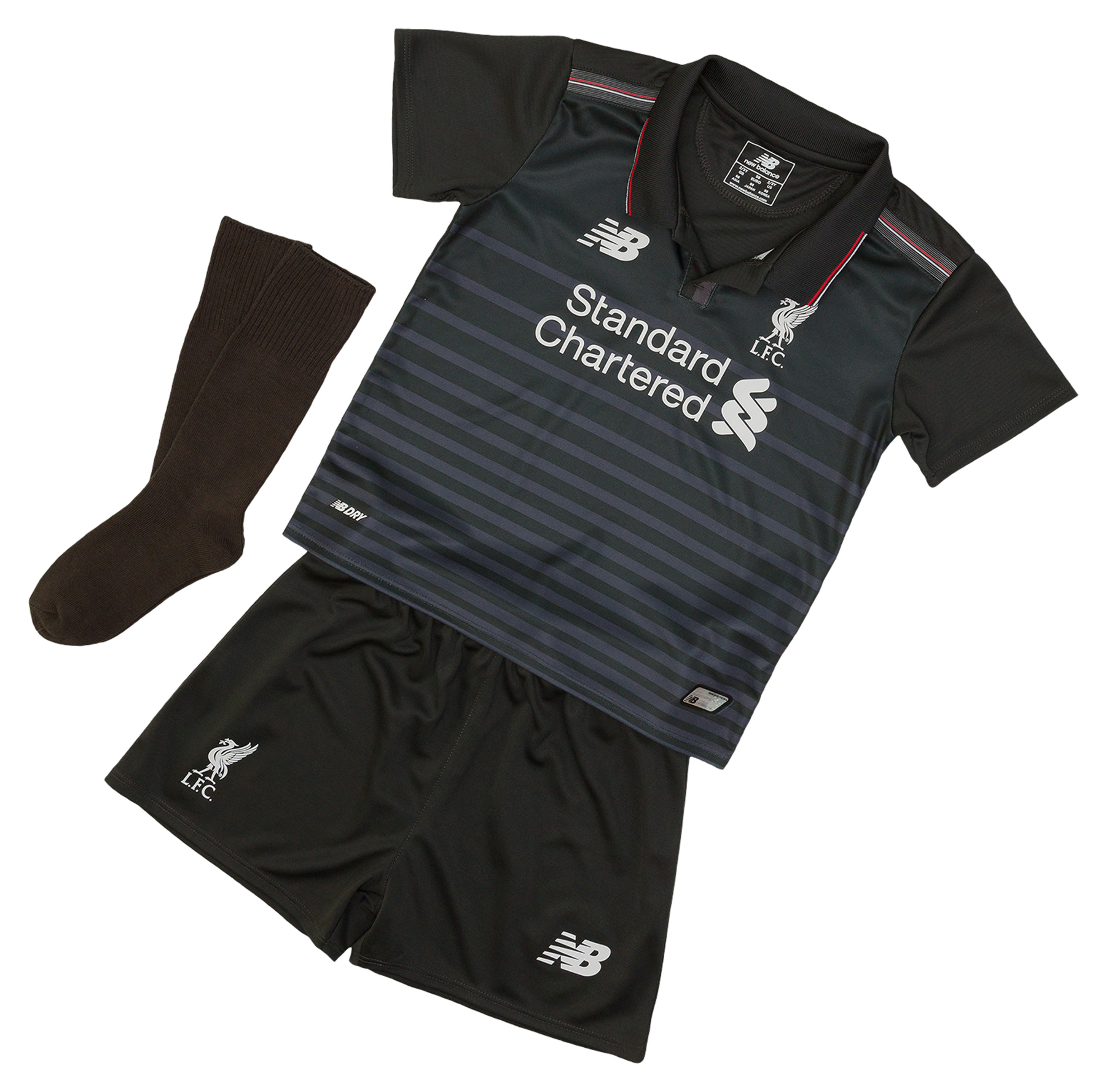 Liverpool Third Infant Kit 20152016 Grey