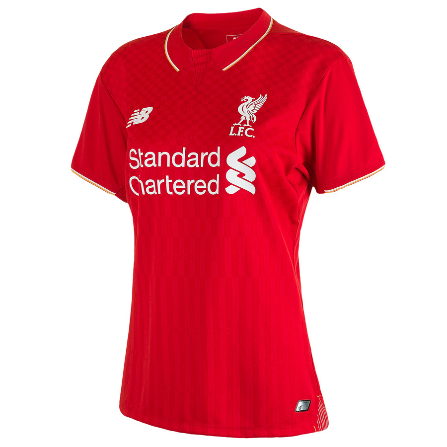 Liverpool Home Shirt 201516  Womens Red