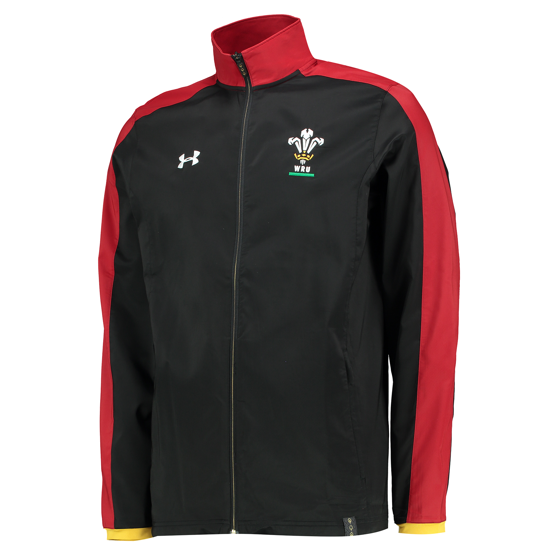 Wales Rugby Travel Jacket 15/16 Black