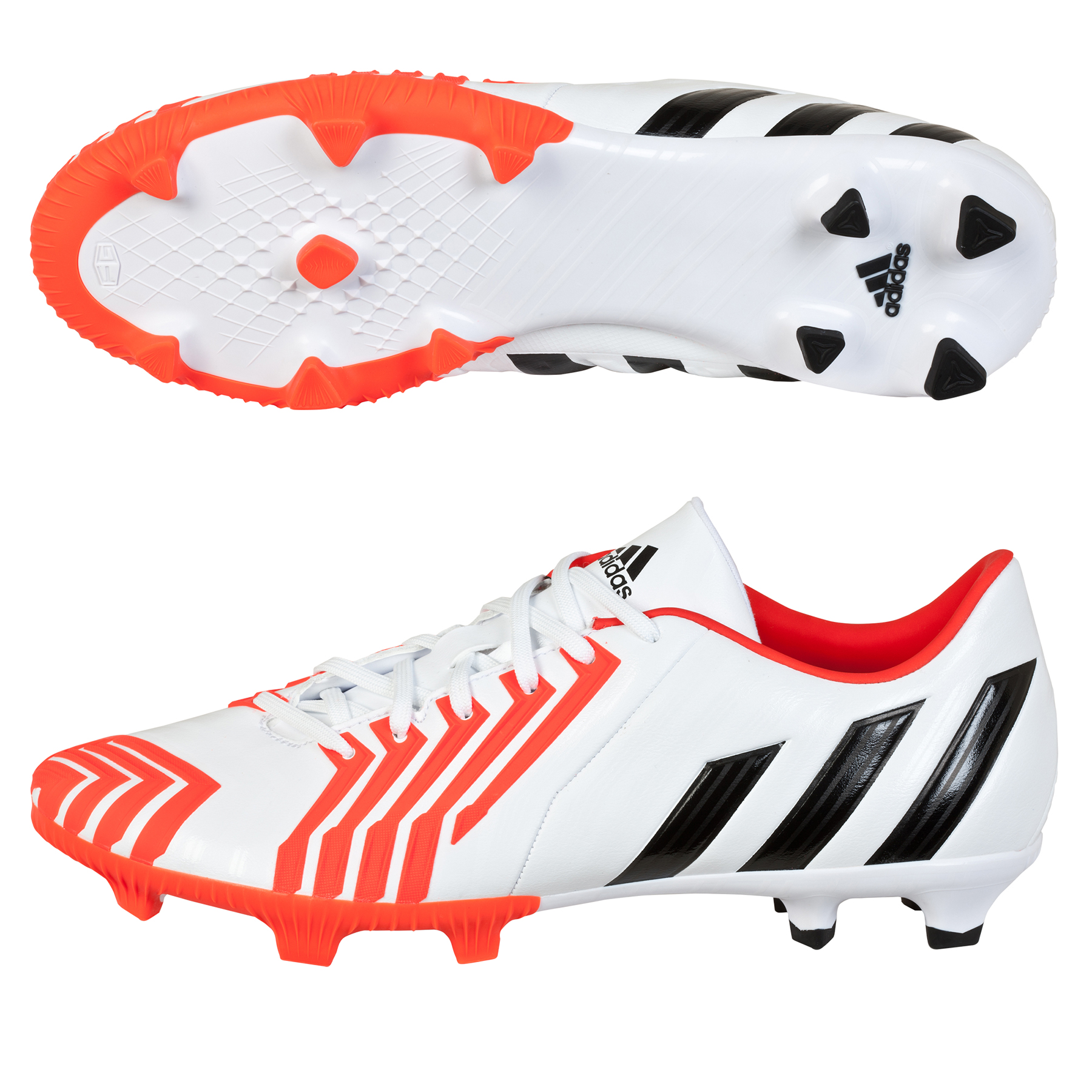 Adidas Predator Absolion Instinct Firm Ground Football Boots White