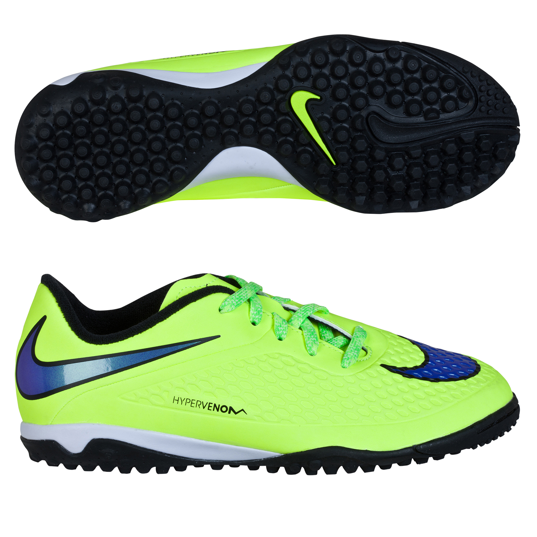 Nike Hypervenom Phelon Astroturf Trainers  Kids Yellow