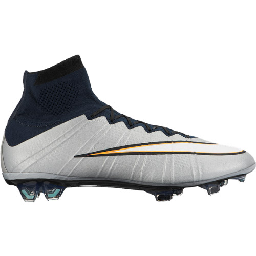 Mercurial Superfly CR7 FG Silver